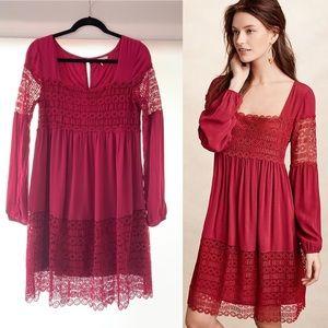 Anthropologie Floreat Aveline Lace Dress